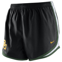 Baylor Bears Nike Women's Tempo Shorts – Black