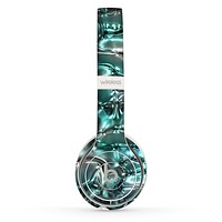 The Teal Mercury Skin Set for the Beats by Dre Solo 2 Wireless Headphones