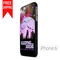 Sleeping With Sirens Infinity Quote Galaxy  Design US iPhone 6 Case