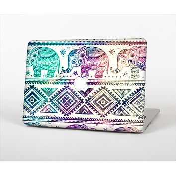 The Tie-Dyed Aztec Elephant Pattern Skin Set for the Apple MacBook Air 13""