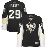 Reebok Women's Pittsburgh Penguins Marc-Andre Fleury #29 Home Black Premier Player Jersey - Dick's Sporting Goods