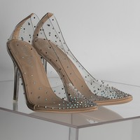 AZALEA WANG Sexy Every Occasion Pumps, In Nude