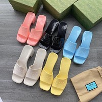 GUCCI  Candy sandals