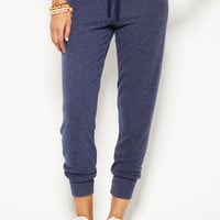 Delia's Yummy Lounge Pant in Navy - Blue
