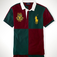 Custom-Fit Color-Blocked Polo