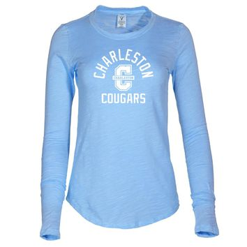 NCAA College of Charleston Highlanders - 08CC-1 Women's Long Sleeve Slub Tee Shirt