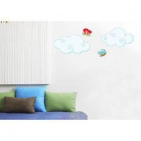 ADZif Ludo Clouds Wall Decal - L5309 - All Wall Art - Wall Art & Coverings - Decor