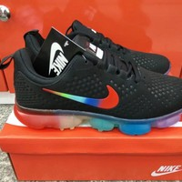 nike men sport casual rainbow sneakers fashion running shoes-1