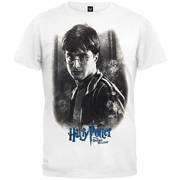 Harry Potter Heads Adult Unisex T-Shirt Adult Pop Culture Graphic Tee Nerdy Geeky Apparel
