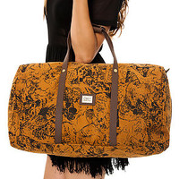 The Obey Wolf Pack Duffle Bag in Cathay Spice