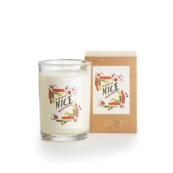 Naughty/Nice Boxed Glass Scented Christmas Candles