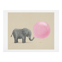 Terry Fan Jumbo Bubble Gum Art Print