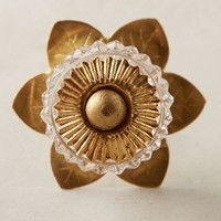 Pineapple Upside-Down Knob by Anthropologie