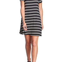 Striped T-Shirt Dress-FINAL SALE