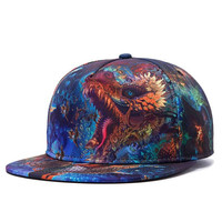 Sea Dragon Snapback Hat