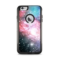 The Colorful Neon Space Nebula Apple iPhone 6 Plus Otterbox Commuter Case Skin Set