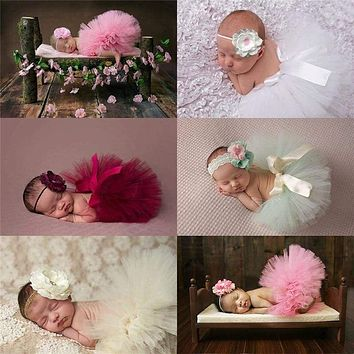 Baby Tutu Skirt with Headdress