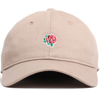 Rose Unstructured Hat Tan
