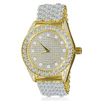 BLING MASTER LUXURY ICED OUT Custom CZ WATCH