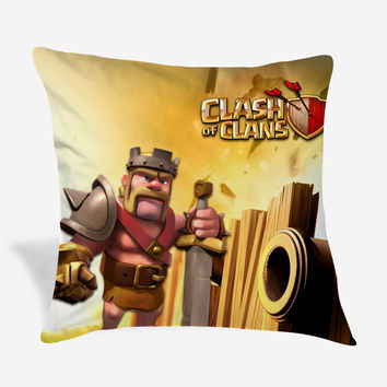 Clas of Clans Pillow Cover