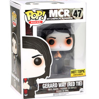 Funko My Chemical Romance Pop! Gerard Way (Red Tie) Hot Topic Exclusive