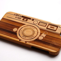 Copy of Camera Wood iPhone 6 case, waves of the sea iphone 6plus wood case, iphone 5 case, iphone 5c case,iphone 4 case