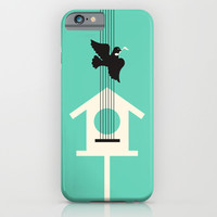 A bird stole my song iPhone & iPod Case by Budi Satria Kwan