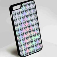 Alien Emoji Case for iPhone 4, 4S, 5, 5S, 5C, 6, 6 Plus, 7 and Samsung Galaxy S3, S4, S5,S6, S7