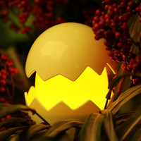 USB/AAA Battery Powered Led Yolk Night Light Cute Egg Lamp Baby Night Light Toys Christmas Gift Touch Switch Lamp for Kids