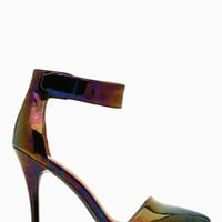 Jeffrey Campbell Solitaire Platform Pump - Oil Slick