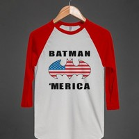 batman 'merica b tee - Totes Adorbs Tees - Skreened T-shirts, Organic Shirts, Hoodies, Kids Tees, Baby One-Pieces and Tote Bags