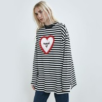 Lazy Oaf Messed Up Long Sleeve T-shirt - Everything - Categories - Womens