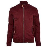 Slim Dark Red Jacket