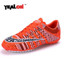 YEALON Football Boots Soccer Shoes Men Superfly Cheap Football Shoes For Sale Kids Cleats Indoor Soccer Shoes Superfly Chuteira