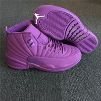 Air Jordan 12 Retro Purple Men Basketball Shoes 41-47