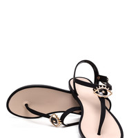 Eye See You Jelly Thong Sandals