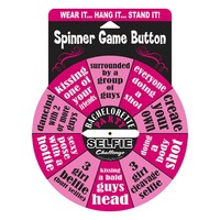 Bachelorette Party Selfie Challenge Spinner Game