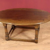 Canonbury - English Oak Refectory Coffee Table Tables