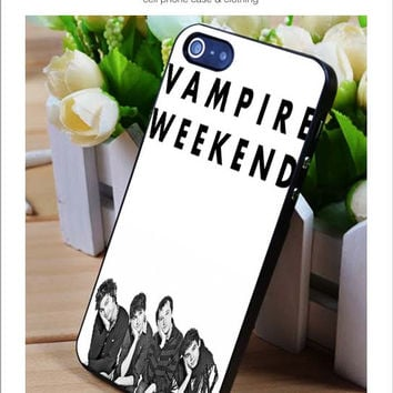 Vampire Weekend band iPhone for 4 5 5c 6 Plus Case, Samsung Galaxy for S3 S4 S5 Note 3 4 Case, iPod for 4 5 Case, HtC One for M7 M8 and Nexus Case