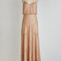 Vintage Inspired Long Spaghetti Straps Maxi Calling All Romantics Dress