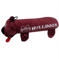 Mississippi State Plush Tube Pet Toy