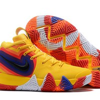 Nike Kyrie 4 IV Sneaker - Yellow Colorful