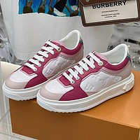 LV Louis Vuitton new splicing color ladies casual shoes sneakers