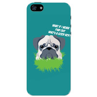 Who's a Good Boy | Pug Funny Face iPhone 5 / 5S Case