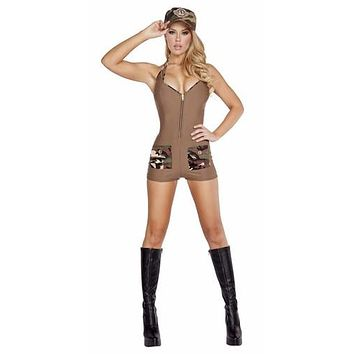 Sexy C.O.D. Soldier Halloween Costume