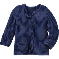 Old Navy Knit Boyfriend Cardigan For Baby