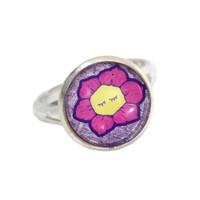 Flower Ring - Wonderland Jewelry - Twisted Pixies