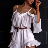PUSH PULL playsuit