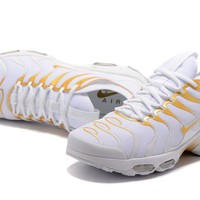 NIKE AIR MAX PLUS TN white gold 36-46