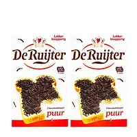 2-Pack De Ruijter Dark Chocolate Sprinkles, 13.4 oz (380 g) x2
